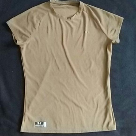3f35cbd2 Under Armour Tops | Tactical Brown Womens Tshirt | Poshmark